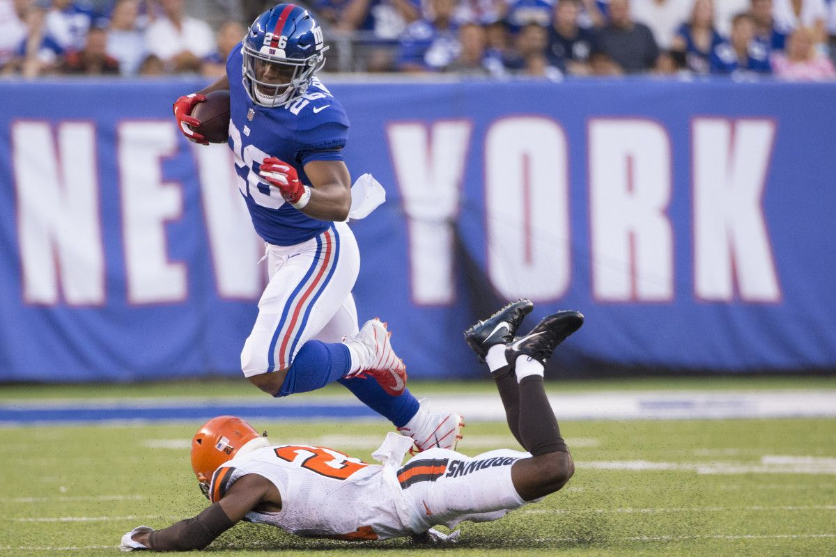 Giants Saw Real Deal Saquon Barkley S Big Moment Coming In This Moment Giants New York Giants