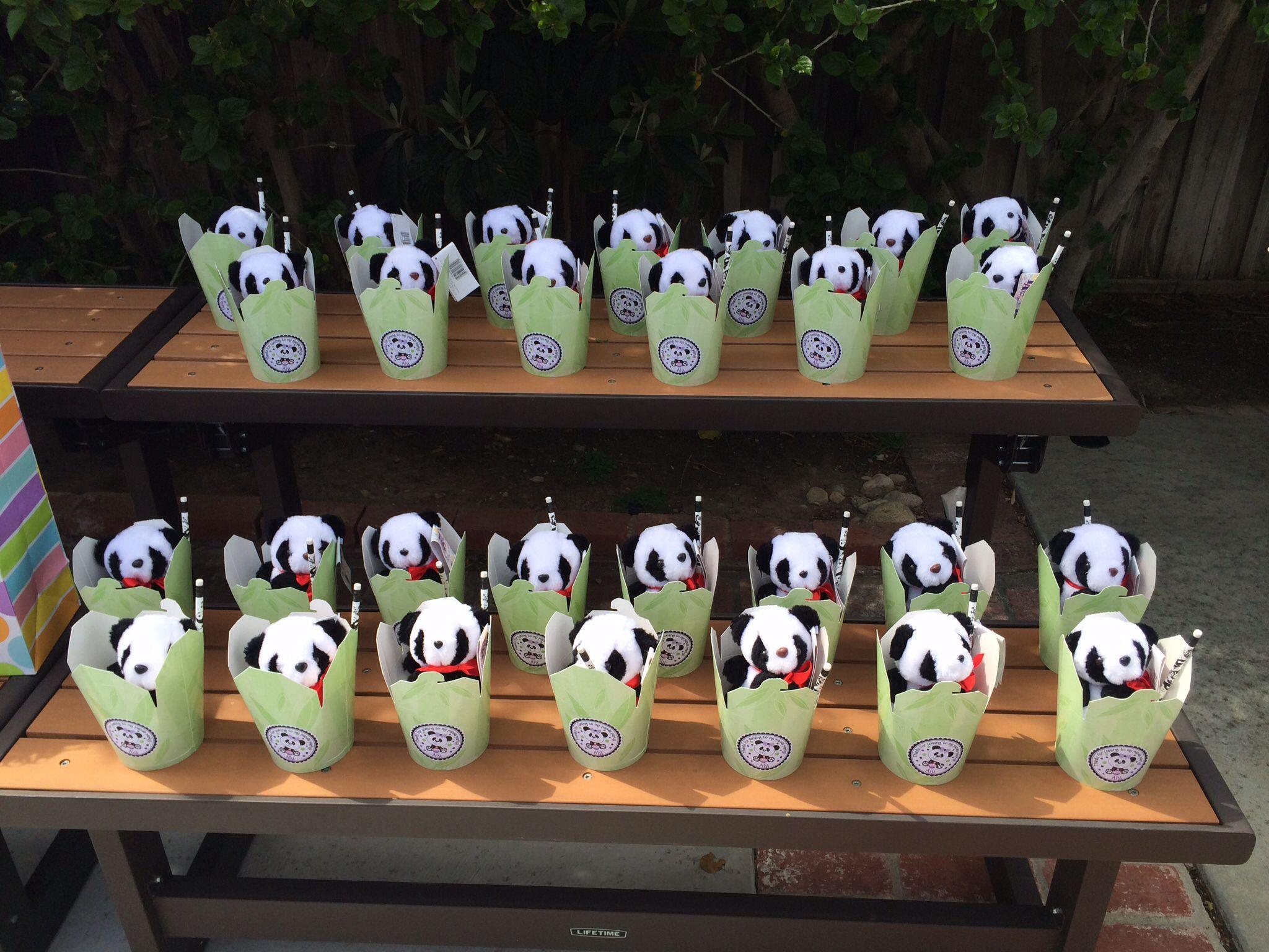 Panda Party Decorations: Panda Party Favors!