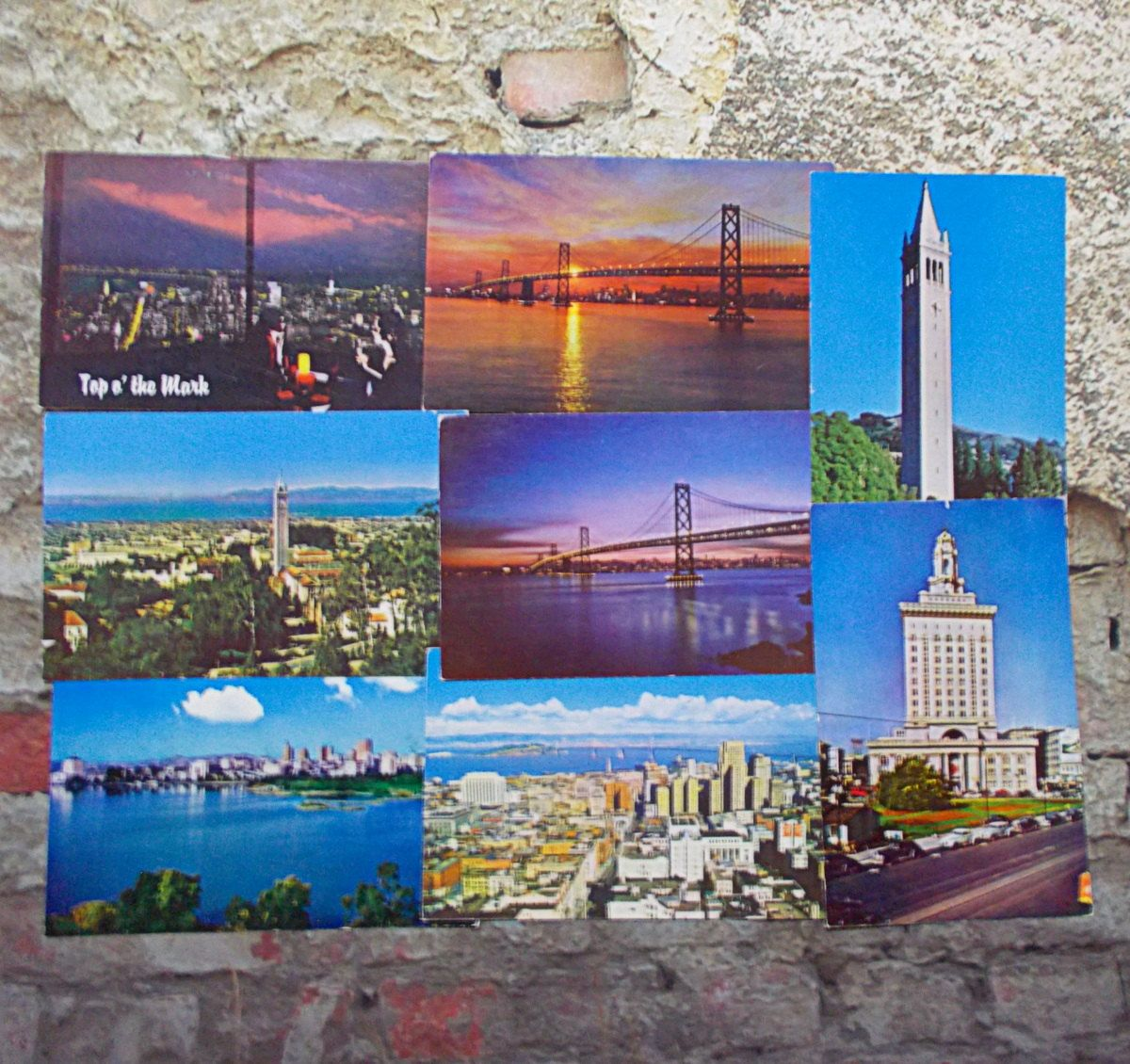 Vintage Postcard Lot California Landmarks San Francisco Oakland City Hall University Panoramic Unused by TntbrbefanDolls on Etsy #postcards #vintage #california #souvenirs