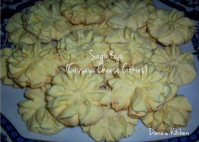 Dana\'s Kitchen: Sagu Keju (Indonesian Cassava Cheese Cookies ...