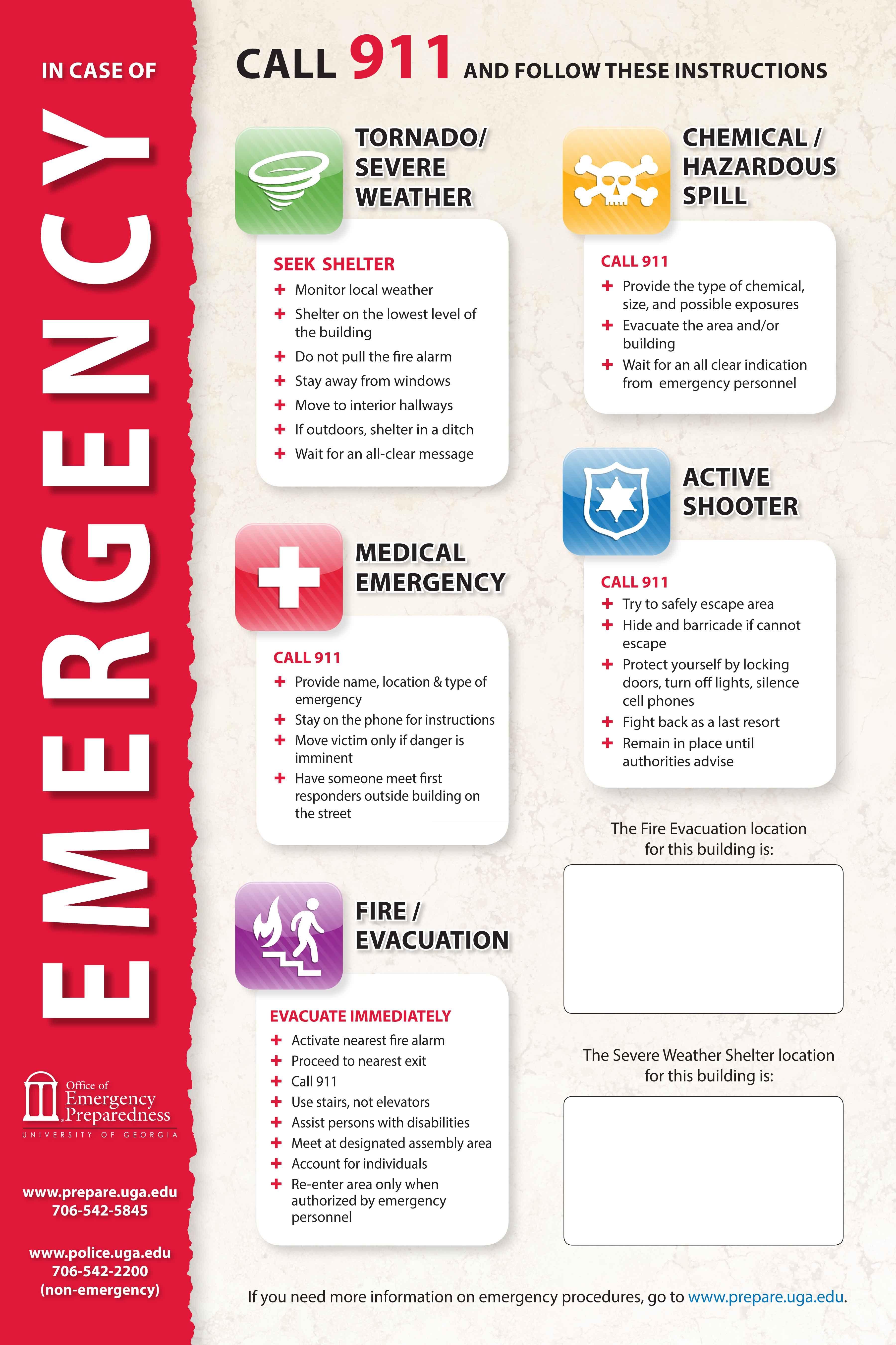 Emergency Preparedness Drill Templates