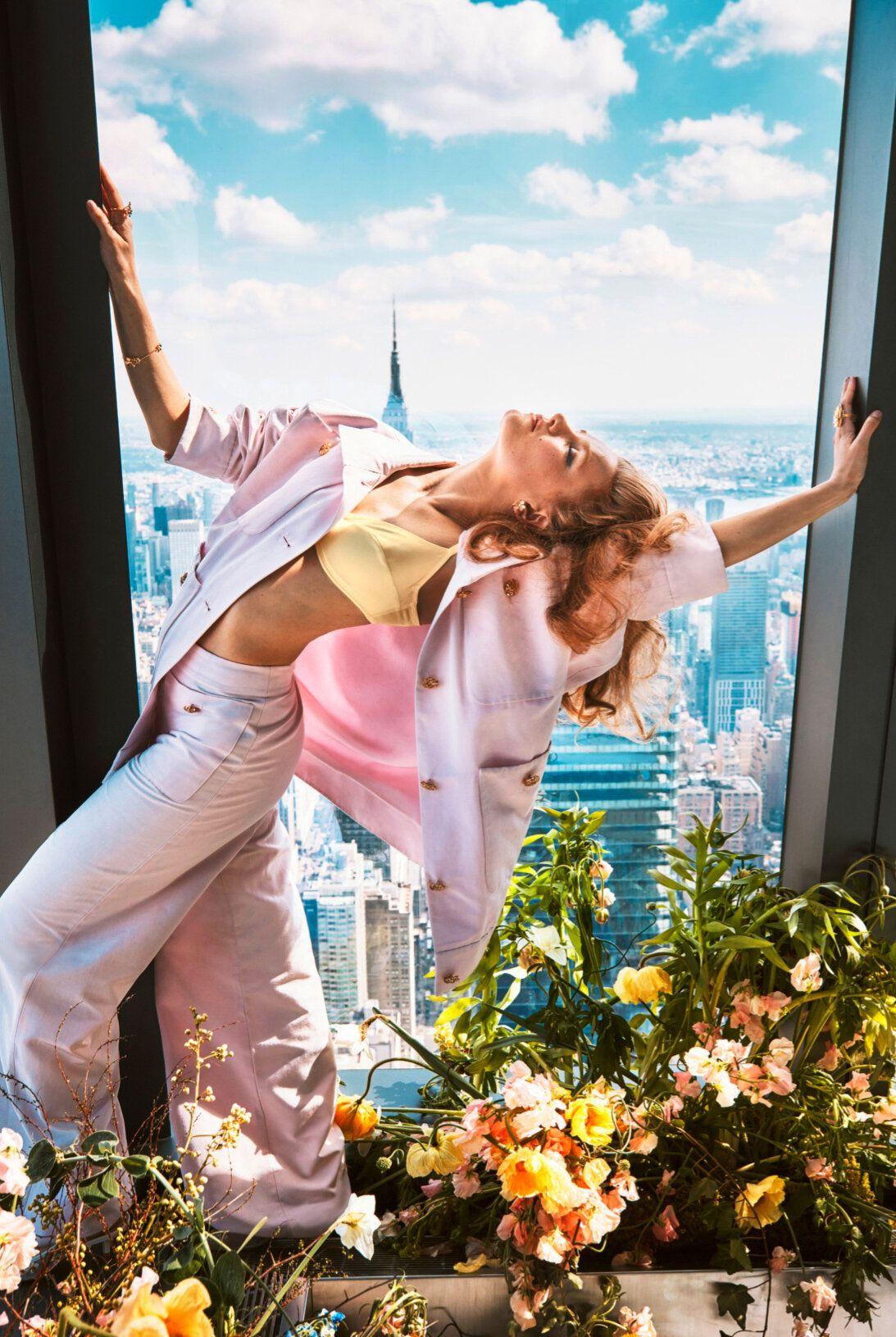 Hadley Robinson Sky High at New York's Edge in Town