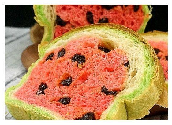 Watermelon Bread Watermelon Raisin Bread Bread Dough