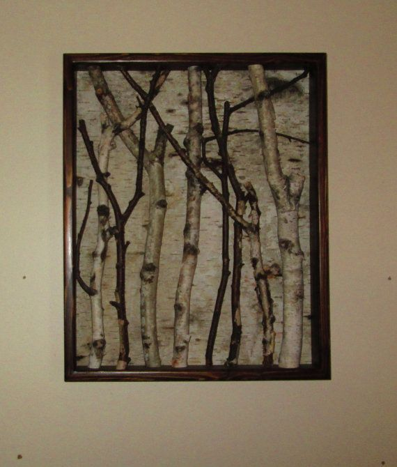 This Beautifully Framed Birch Art will enhance any wall. The frame ...