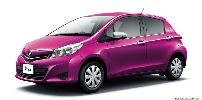 New Yaris In Magic Purple Color New Cars Car Yaris