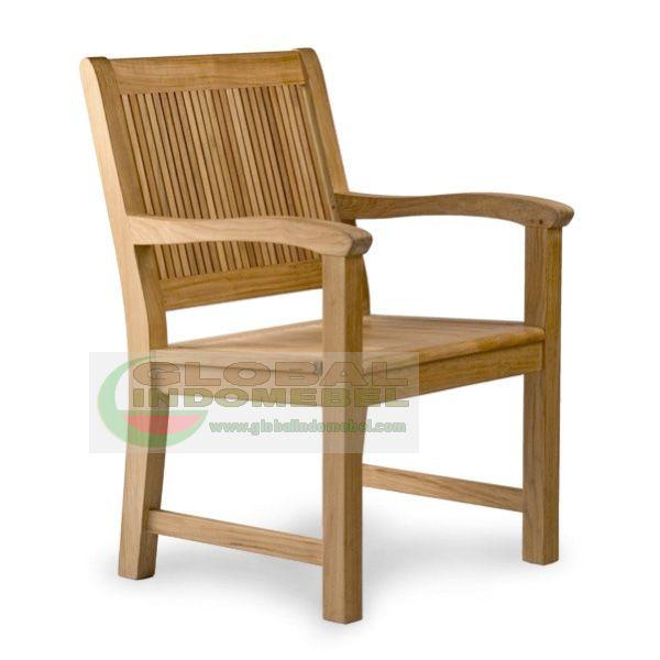 Teak Carbello Arm Chair Teak Garden Furniture Manufacturer Indonesia Furniture Wholesale
