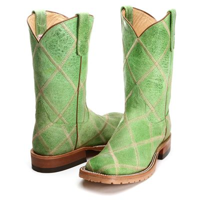 BootDaddy Collection with Anderson Bean Lime Green Sinsation Cowgirl Boots|All Ladies BootDaddy Boots