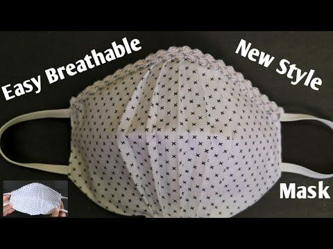 Photo of Face Mask Sewing Tutorial (Breathable Face Mask) / Make Easy Face Mask at Home / DIY Cloth Face Mask