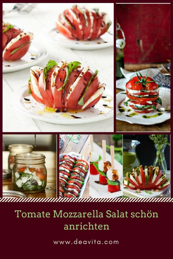 Der Caprese Salat Ist Ein Klassiker Aus Der Kuche Italiens Wie Kann Man Aber Den Tomate Mozzarella Tomaten Mozzarella Salat Tomate Mozzarella Mozzarella Salat