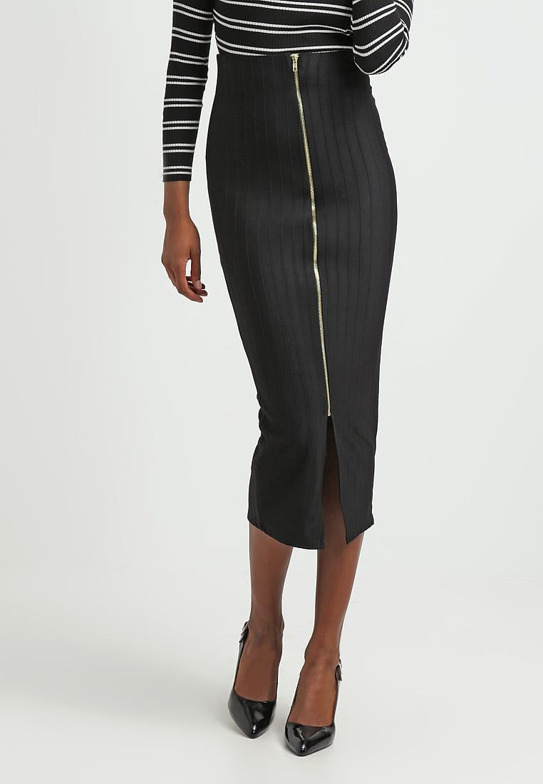 New look maxi skirt black for with free delivery