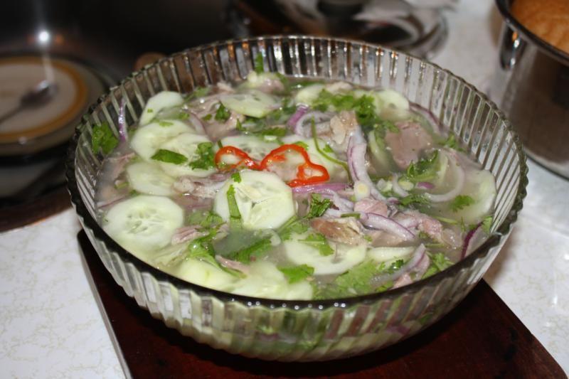 Chicken Soup Trinidad Foot