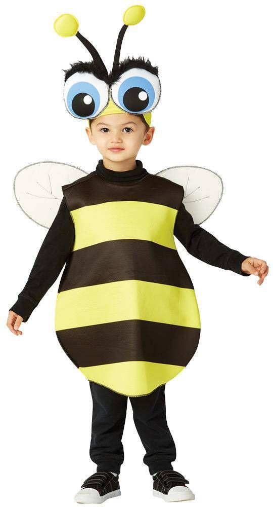 Big Eyed Bee Funny Outfit Toddler Costume