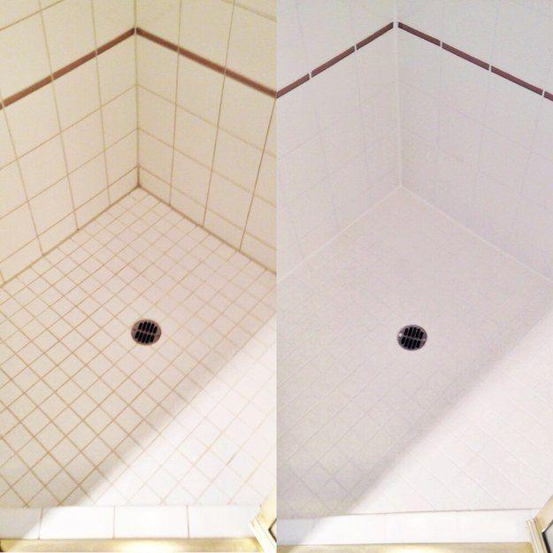 Verwenden Sie Duschgel (keine Seife), um Bildung von Seifenrändern in Ihrer Wanne zu vermeiden.