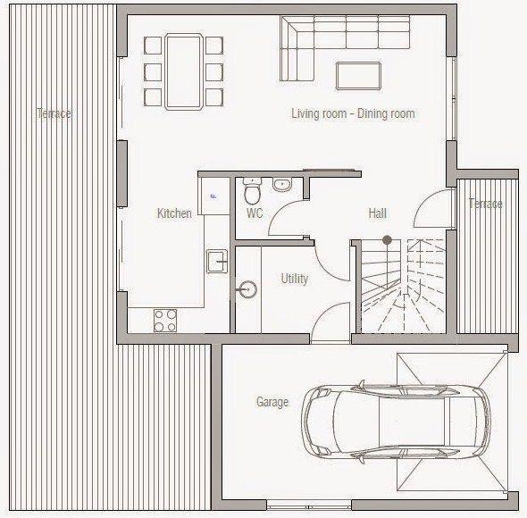 Planos de casas de dos pisos gratis casas pinterest for Planos de casas modernas de 2 pisos gratis