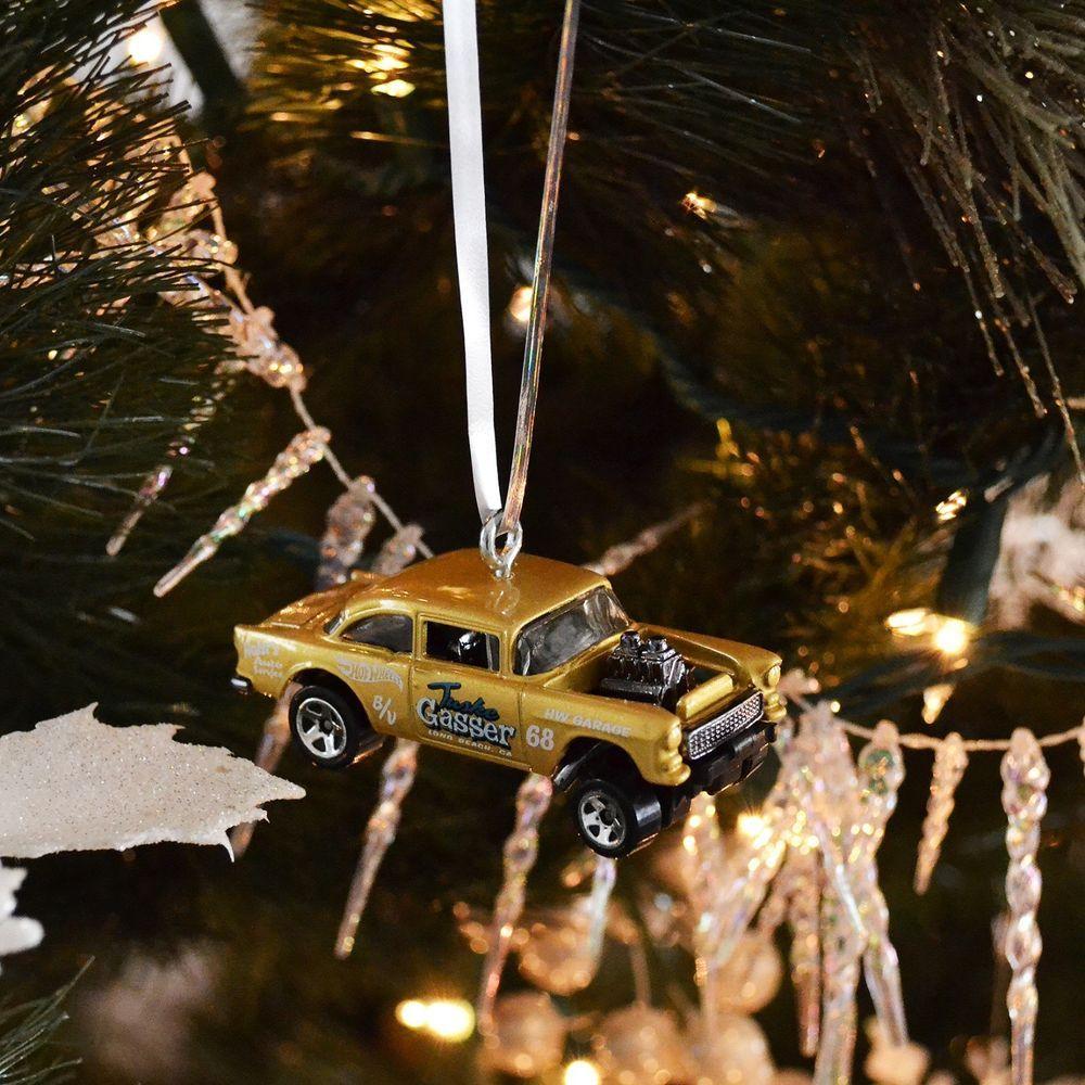 1955 55 CHEVROLET CHEVY GASSER BEL AIR GOLD CHRISTMAS TREE