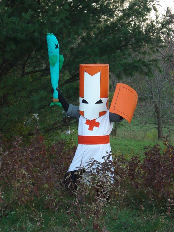 Green Knight By Gaming Goddess On Deviantart Castle Crashers Cool Halloween Costumes Cosplay Diy