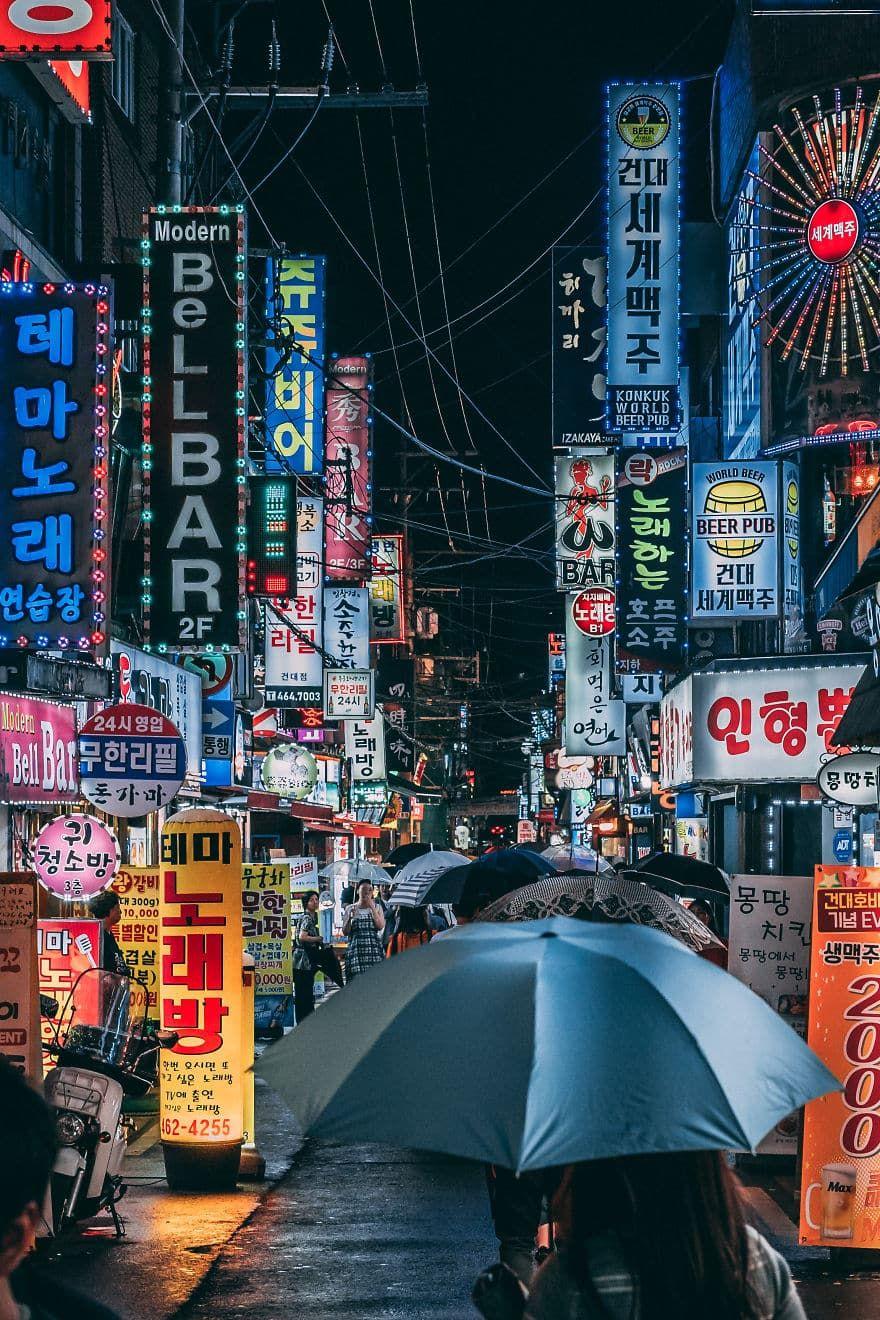 Bộ ảnh ấn tượng của thủ đô Hàn Quốc Seoul
