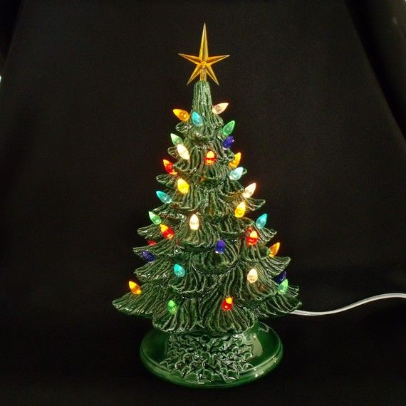 Vintage Style Ceramic Christmas Tree 12 Inches For Some Reason I Ve Always Want With Images Vintage Christmas Tree Vintage Ceramic Christmas Tree Ceramic Christmas Trees
