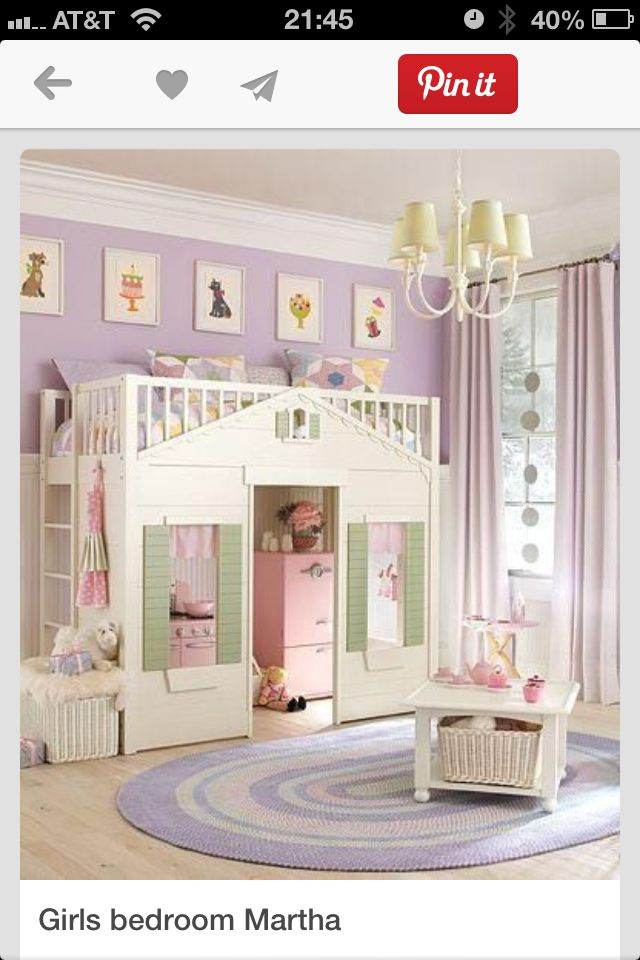 Little girls bedroom The home is where the heart is Pinterest