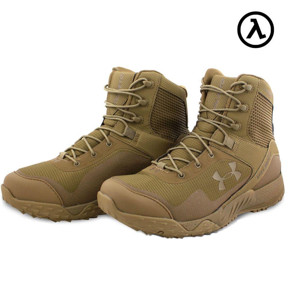 "Under Armour Tactical UA Valsetz RTS 7/"" Boots Men/'s 14 Black 1250234"