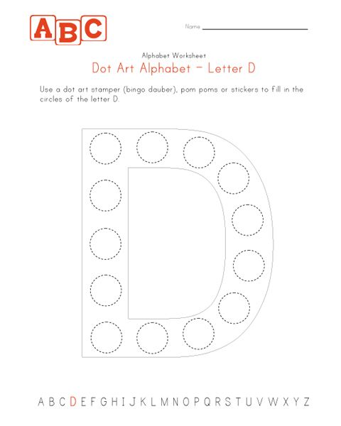 Dot Art Alphabet Worksheets Abc Coloring Pages Alphabet Worksheets Abc Coloring Pages Dots Art
