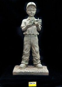 John Deere Garden Statue