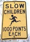 Slow children 1000 points each