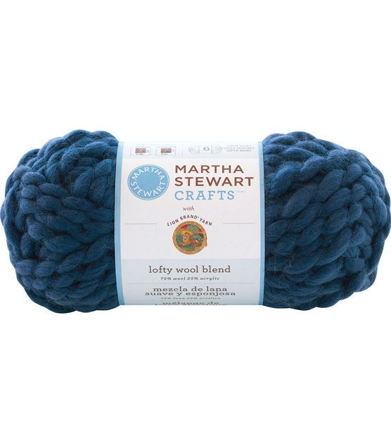Martha Stewart Crafts Lofty Wool Blend Yarn   Knitting Needles ...