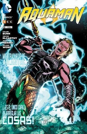 Aquaman Vol 12 Portada De Historieta Personajes Dc Aquaman