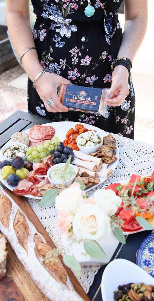 Summer dinner party menu Recipe