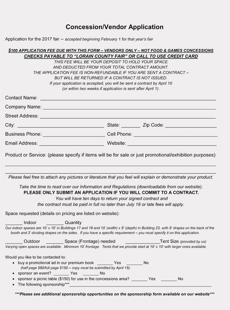 Vendor Registration Form Template Best Of 9 Printable Blank Vendor Registration Form Templates For Registration Form Templates Free Collage Templates