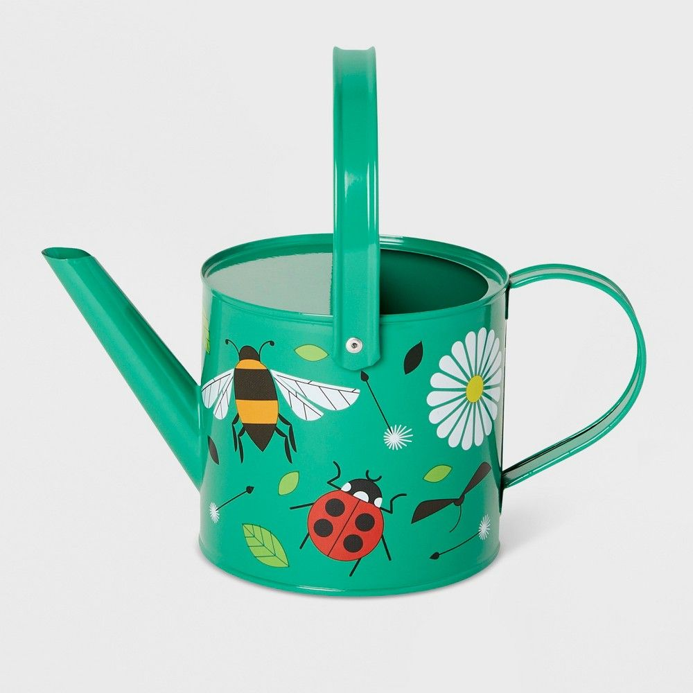 busy bugs watering can green - kid made modern in 2019