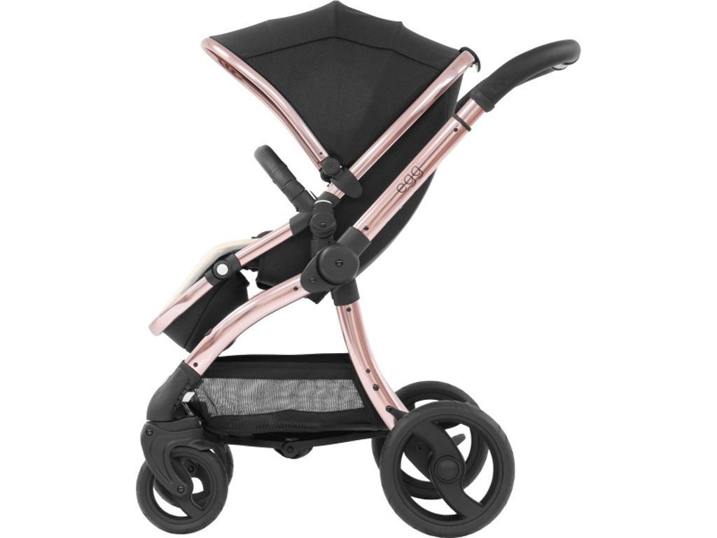Egg Pram Gunmetal Egg Stroller Diamond Black Edition Black Edition Baby