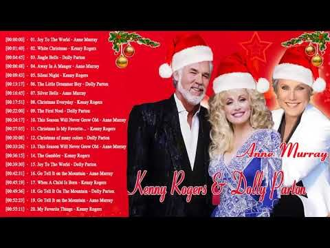 kenny rogers dolly parton anne murray christmas songs 2018 country christmas - Youtube Country Christmas Songs