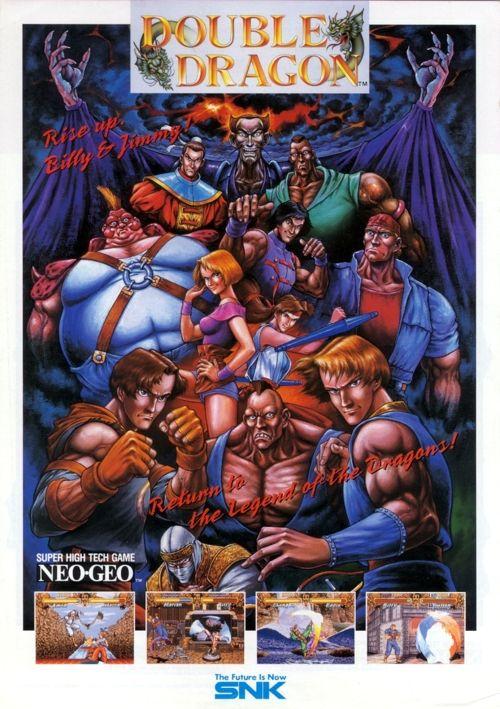 Double Dragon Double Dragon Neo Geo Retro Arcade Games
