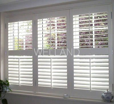 plantation shutters keep top open and keep bottom half close ...