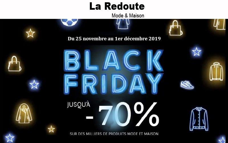 Black Friday La Redoute Plusieurs Articles A Acquerir A Petits Prix Eboons La Redoute Black Friday France Modele De Chaussure