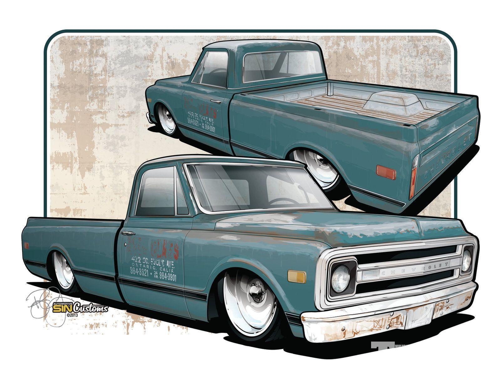 1969 Gmc C 10