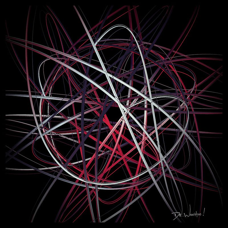 Orbit. #symmetry #calligraphy #brushstrokes #paintingmachine  #generativedesign  #creativecoding  #javascript