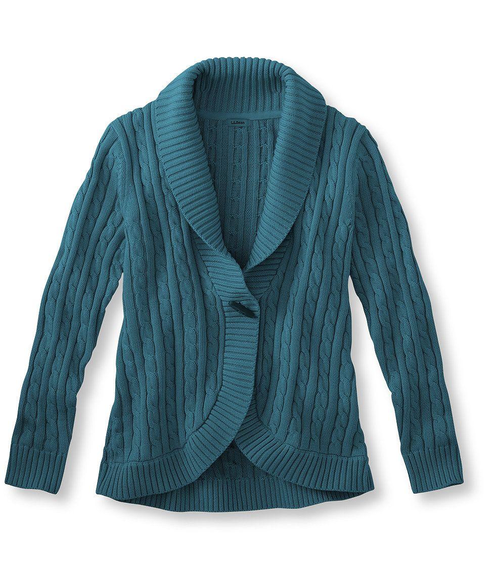L® Cardigan Collar Suéter Shawl de Double algodón qnp77tZwH