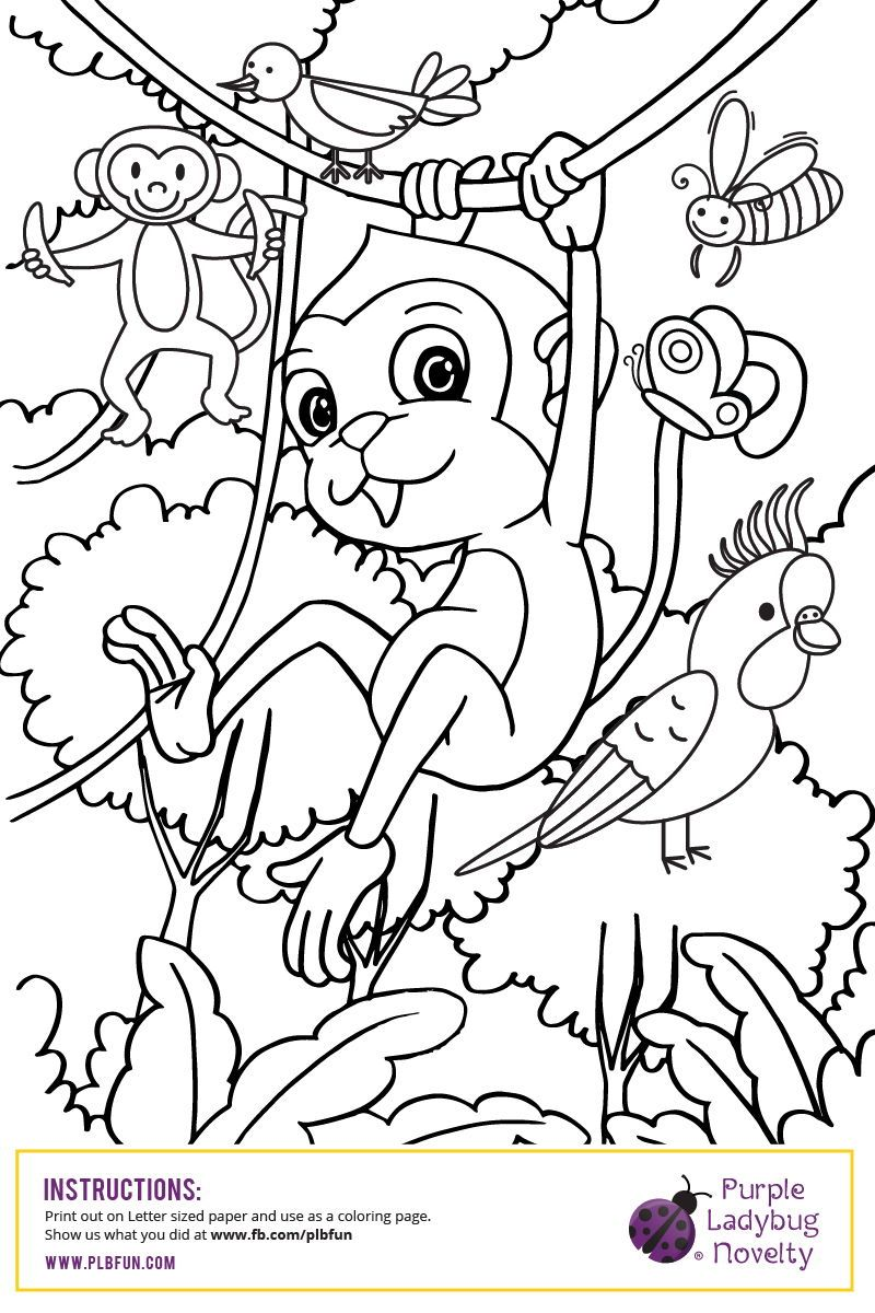 """FREE Printable Coloring Page """"It's always a great day to"""