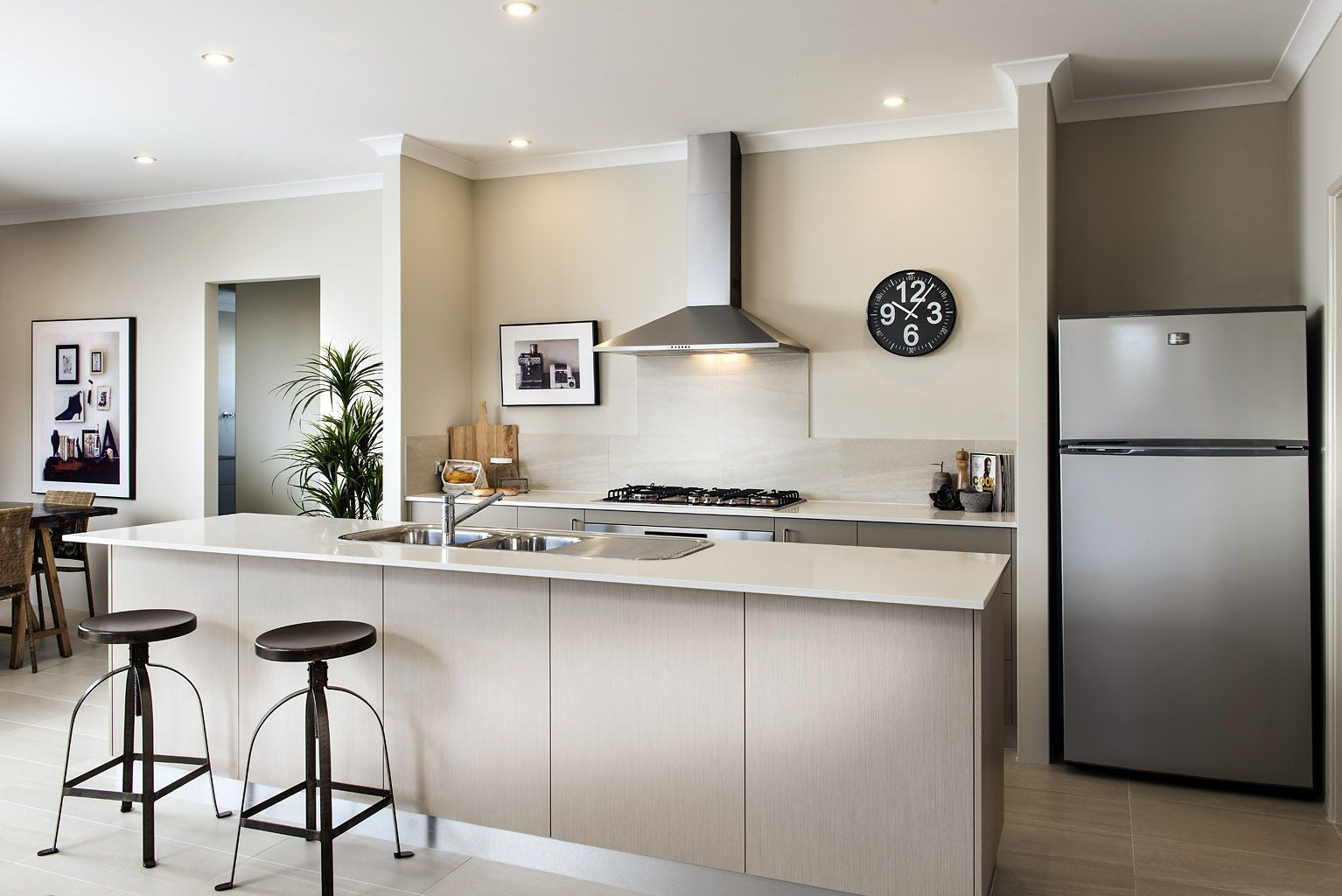 Homebuyers Centre - Liberty Display Home Kitchen | Own Your Kitchen ...