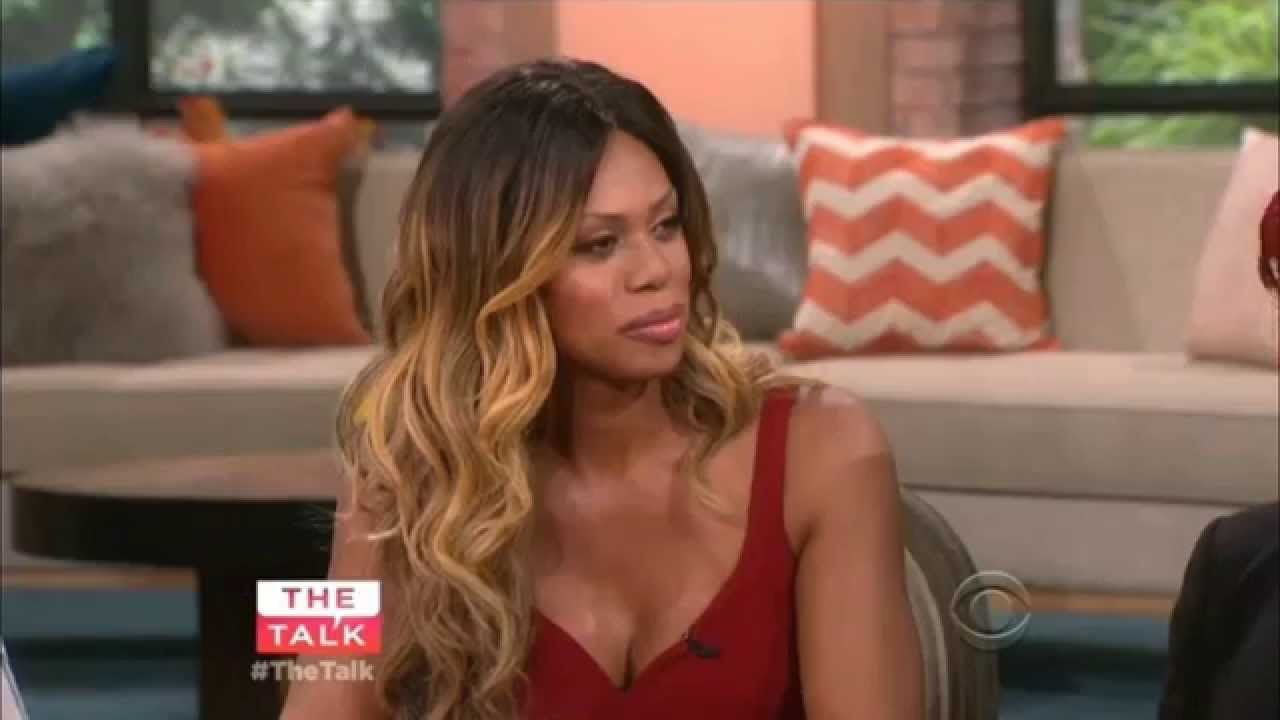 Laverne Cox on The Talk | Actors | Pinterest | Youtube
