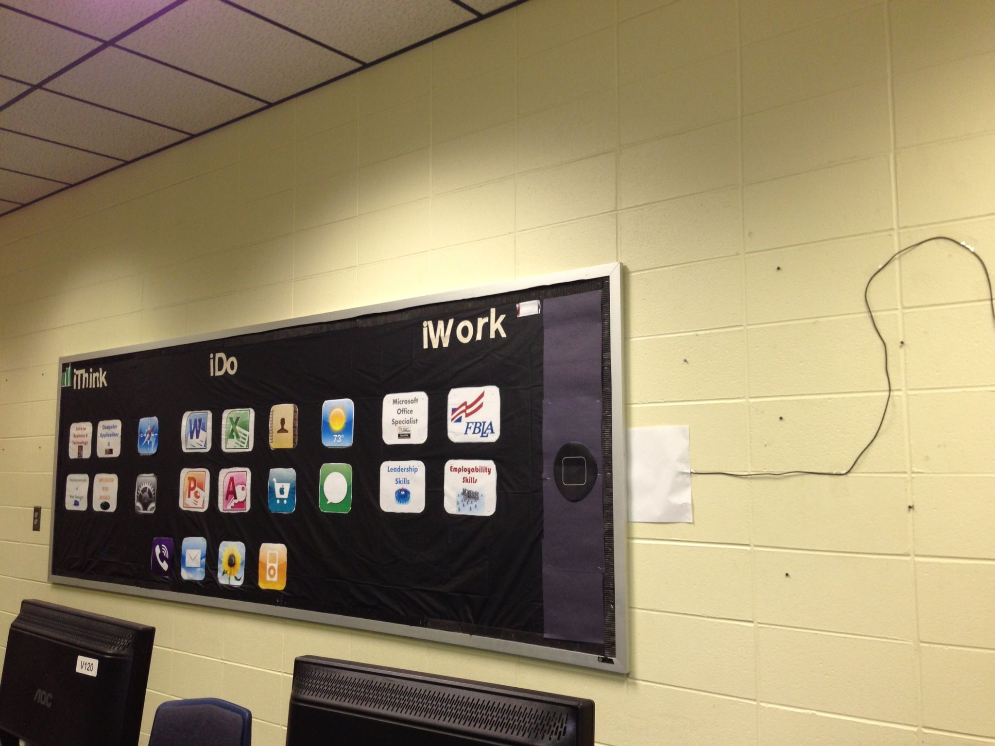 Classroom Design App ~ Ipod ipad bulletin board my classroom pinterest