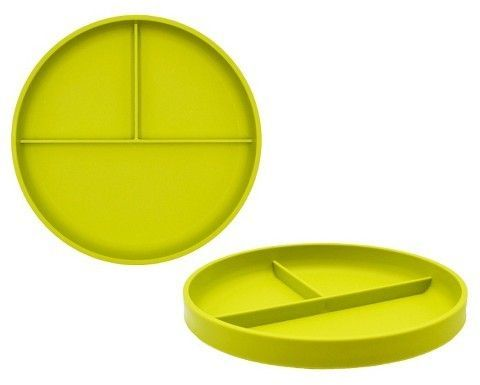 Little Kidsu0027 Round Plastic Divided Plate 7.3 Lime Green - Pillowfort | Divided plates Rounding and Products  sc 1 st  Pinterest & Little Kidsu0027 Round Plastic Divided Plate 7.3 Lime Green - Pillowfort ...