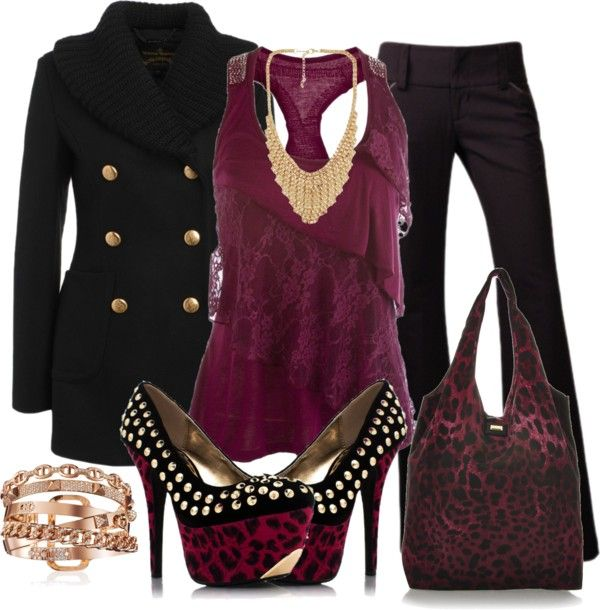 """leopard contest"" by sweetlikecandycane on Polyvore"