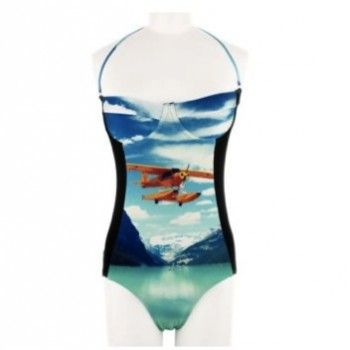 Maillot de bain une pièce bustier by We Are Handsome