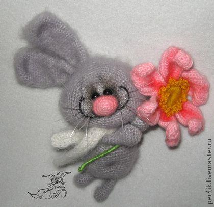 Зайка-Улыбайка - игрушка,малыш,няшка,серый,заяц,зайка,зайчик,зайчонок