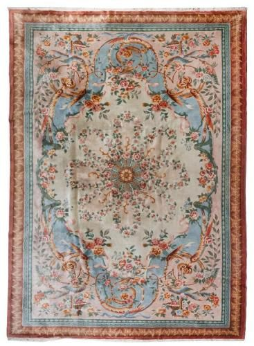 A French Wool Rug 15 Feet 3 Inches X 10 Feet 9 Inches Price Estimate 1000 2000 Rugs Wool Rug Rugs On Carpet