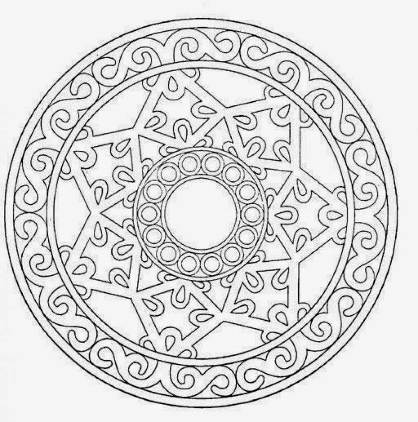 Explore Coloring Pages Mandala Book And More